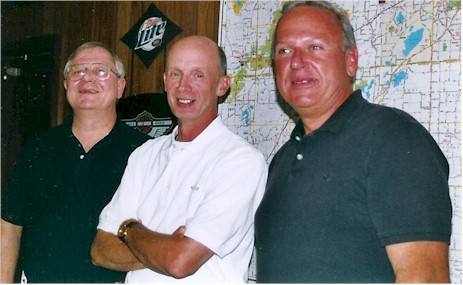 Tom, Rick, and Bill in 2006